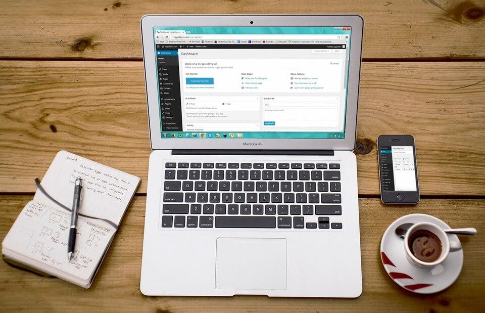 Afbeelding Hoe maak je een WordPress website?