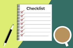 checklist maken