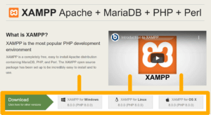 XAMPP Downloaden