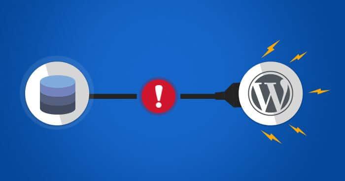 """Afbeelding WordPress """"Fout bij maken databaseconnectie"""""""