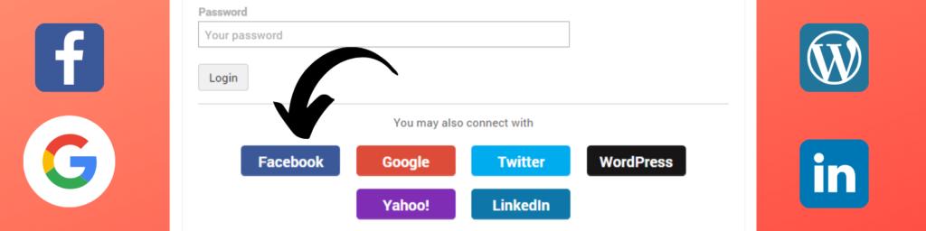 WordPress plugin Social login