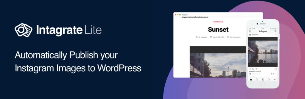 Intagrate Lite WordPress plugin