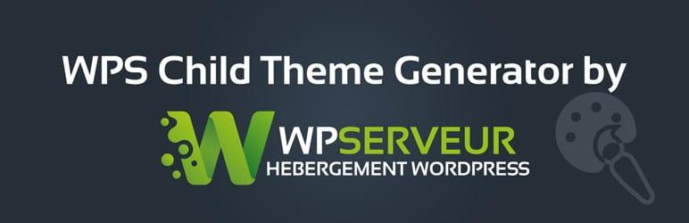 WPS Child Theme Generator by WPServeur