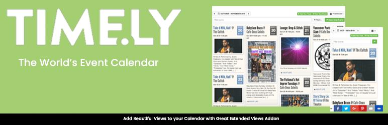 All in one Event Calendar WordPress plugin
