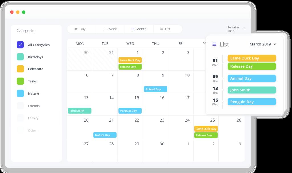 Spider Event Calendar WordPress