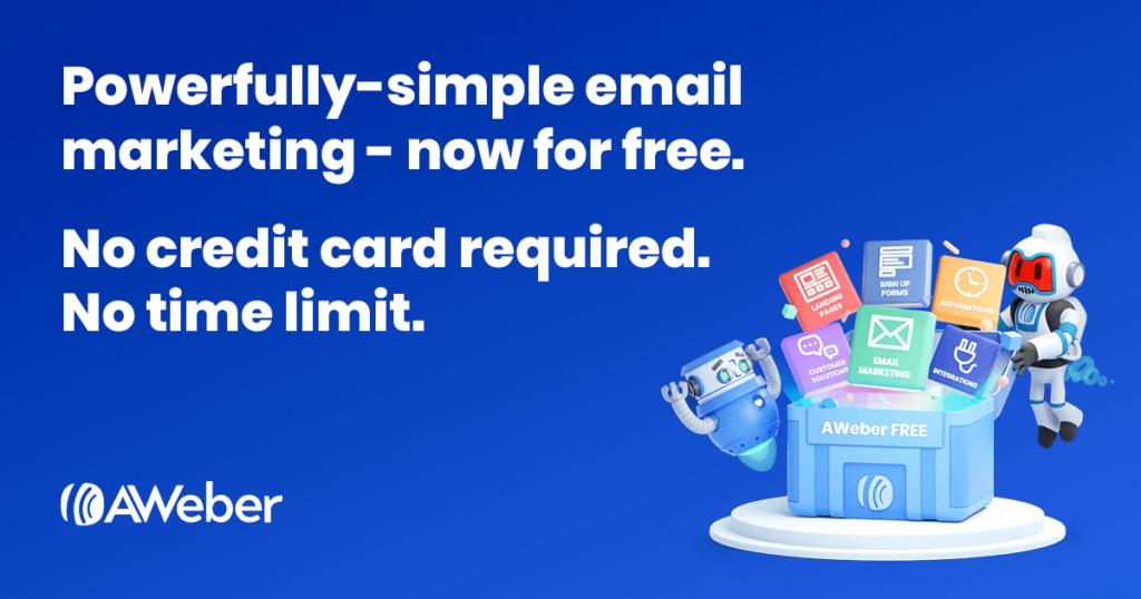 AWeber e-mailmarketing